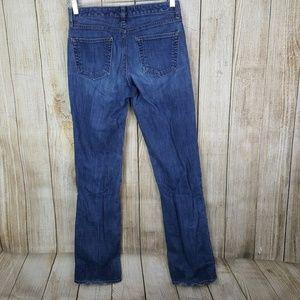 Gap Womens Jeans Boot Cut Size 8 Long 34 Inseam